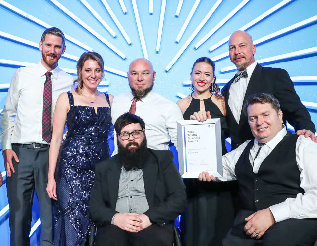Winner! 2019 Telstra Business Award – Social Change Maker
